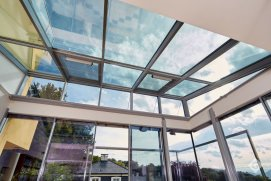 Keller Orangerie minimal windows, Warema, hohe Verglasung Heat-Mirrow Verglasung
